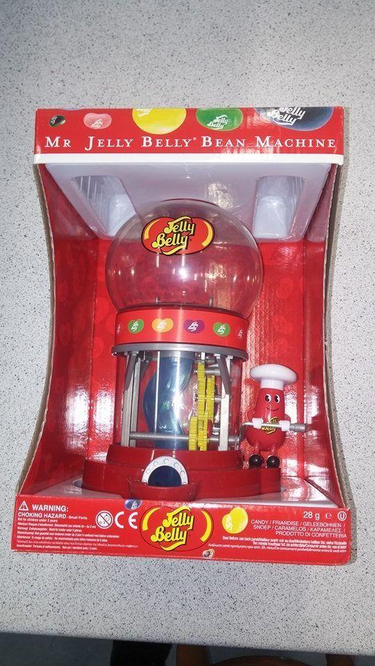 Jolly Good Candy Stop Calgary - Mr Jelly Belly Machine, $35.00 (http://www.jollygoodscandy.com/mr-jelly-belly-machine/)