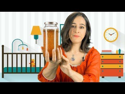 Cómo hacer una botella de la calma para niños con purpurina - YouTube