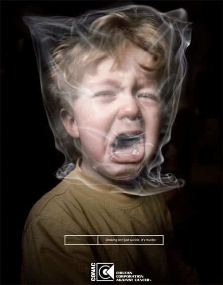 Smoking is Murder -  Smoking isn't just suicide. It's murder. Secondhand tobacco smoke causes many of the same diseases as direct smoking.