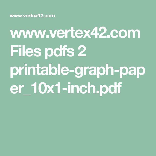 Viac ako 25 najlepších nápadov na Pintereste na tému Printable - graph sheet download
