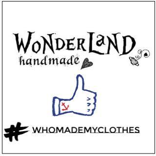Wonderland: FASHION REVOLUTION WEEK #whomademyclothes