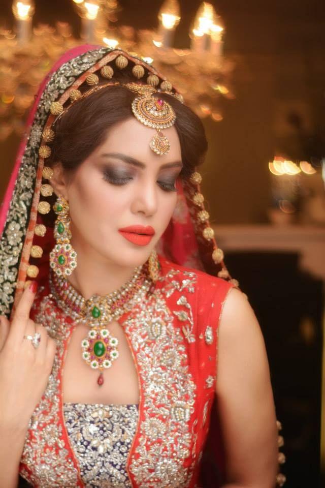 Nadia Hussain salon. Makeup by Yasmeen Saher