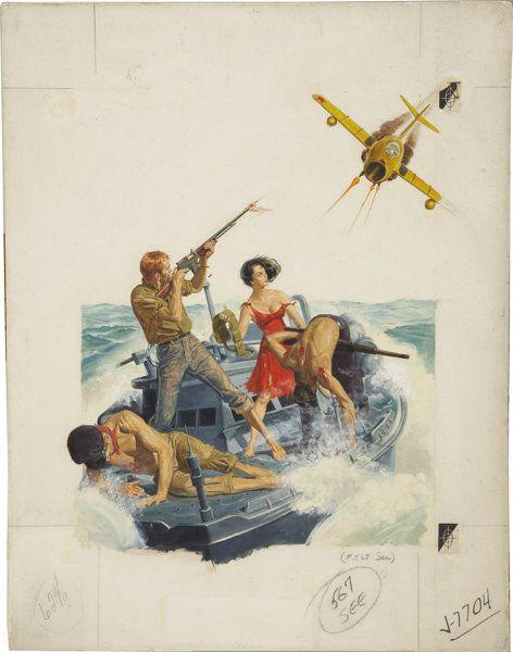 Основной иллюстрации, Георга ГРОССА (американский 20-го века). Иллюстрации оригинальные мужские magazinecover. Гуашь на борту. 24.5 х 19 В.. не з...