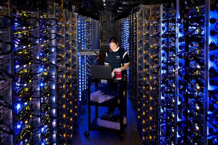 Un vistazo a los centros de datos de Google... son simplemente, increíbles