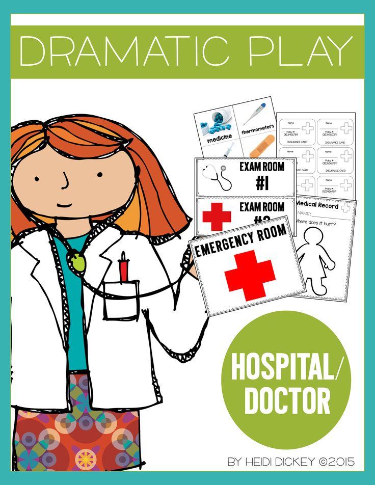 Doctor/Hospital Dramatic Play Center