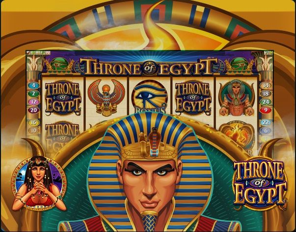 Throne of Egypt Slots Machine Review