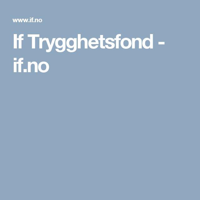 If Trygghetsfond - if.no