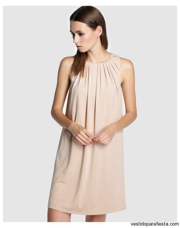 Sencillos vestidos cortos sueltos para fiesta de día 2014  http//vestidoparafiesta.com