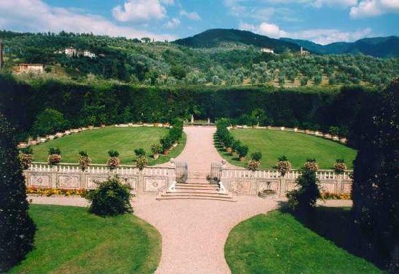 The Lemon Tree garden at Villa Grabau