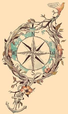 I've always wanted this (or something similar) as a tattoo!