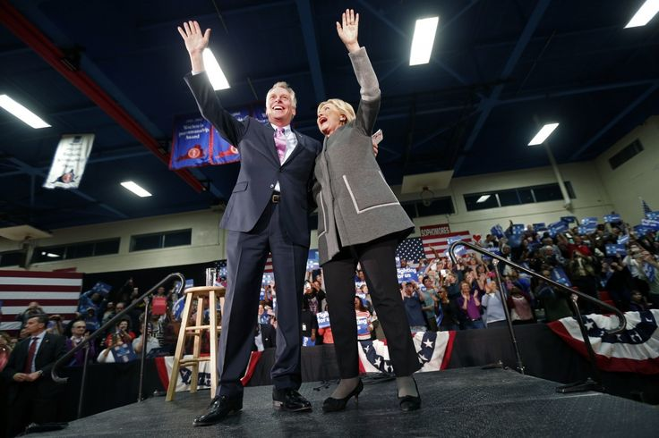 Virginia Gov. Terry McAuliffe upbeat about Trump, says Clinton is done with politics. He thinks Virginia could still land FBI headquarters, despite his own close Clinton ties. By Laura Vozzella