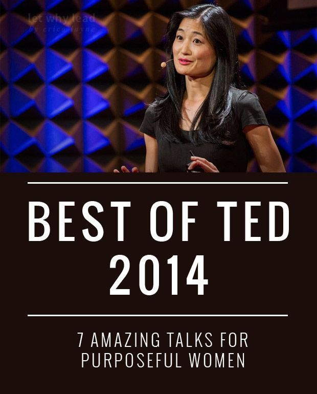 7 AMAZING Ted Talks for Purposeful Women. From body image to parenting to a better way to donatethe ultimate playlist for purposeful women.