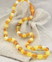 As parents explore how to soothe and calm teething infants and children and give them comfort during these very uncomfortable times, they often turn to one of the oldest and complete natural solutions…Amber Necklace for Teething.