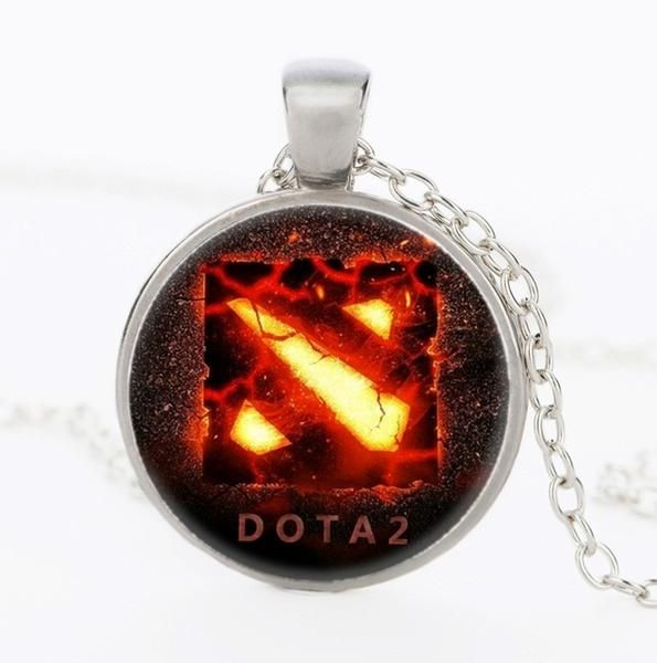 Dota 2 Flaming Necklace