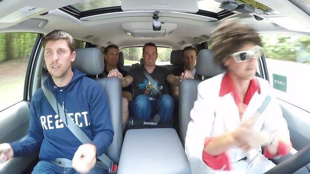 Joe Gibbs Racing NASCAR Drivers Kyle Busch, Denny Hamlin, Carl Edwards, Matt Kenseth, Erik Jones, and Daniel Suarez take part in a little off-season carpool karaoke.
