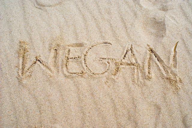 Roślinna - blog wegański: Weganie nad morzem