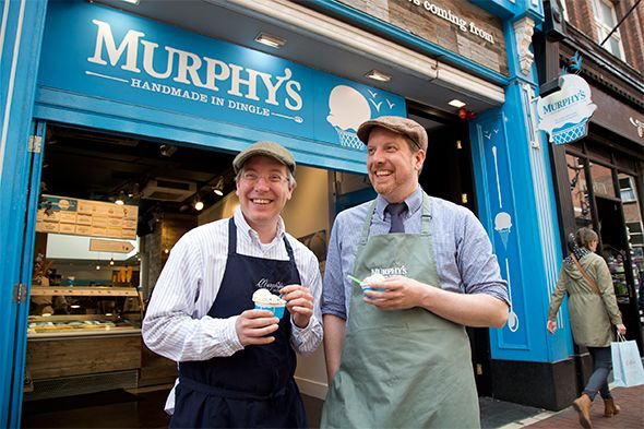 Dublin Eating Spots - Brothers Kieran and Sean Murphy serve what is widely considered the best ice cream in Ireland, made from simple organic Irish ingredients, s...