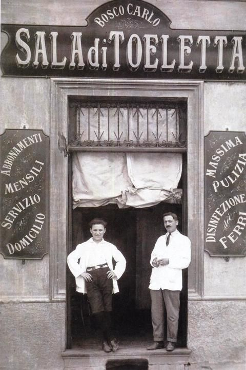 Italian Vintage Photographs ~ IL BARBIERE