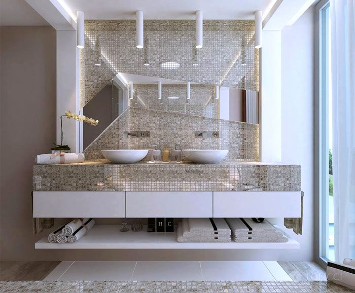 How To Decorate A Mirror With Mosaic Tiles 37 Best Interior Images On Pinterest  Home Decor Arquitetura And