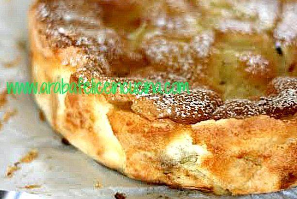 Torta di mele...melosissima (senza burro, olio, latte nè lievito!)