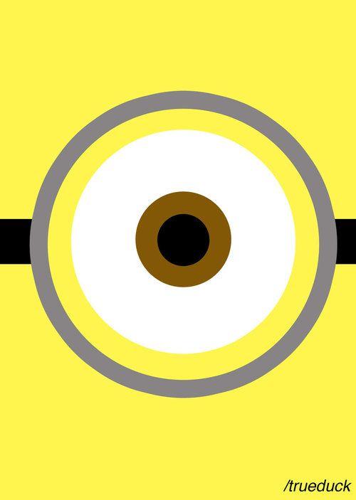 Keep Calm Minion Art Ojo Grafico Graphic Eye