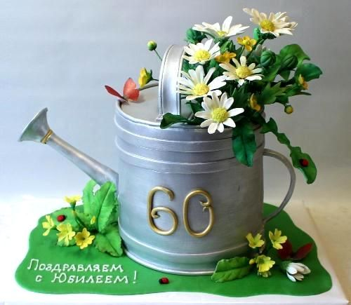 Garden Design Birthday Cake
