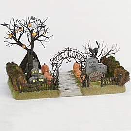 """Department 56: Products - """"Haunted Front Yard"""" - View Products"""
