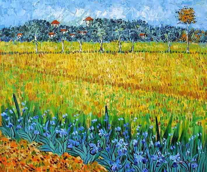 Vincent Van Gogh .