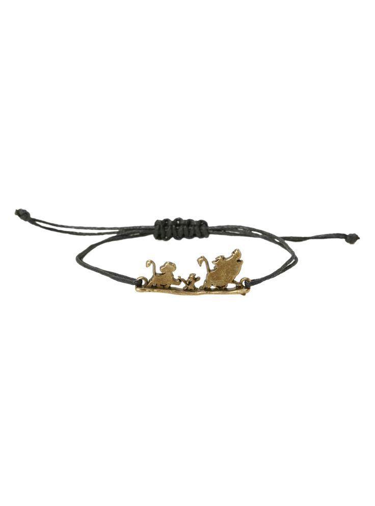 Disney The Lion King Hakuna Matata Cord Bracelet | Hot Topic
