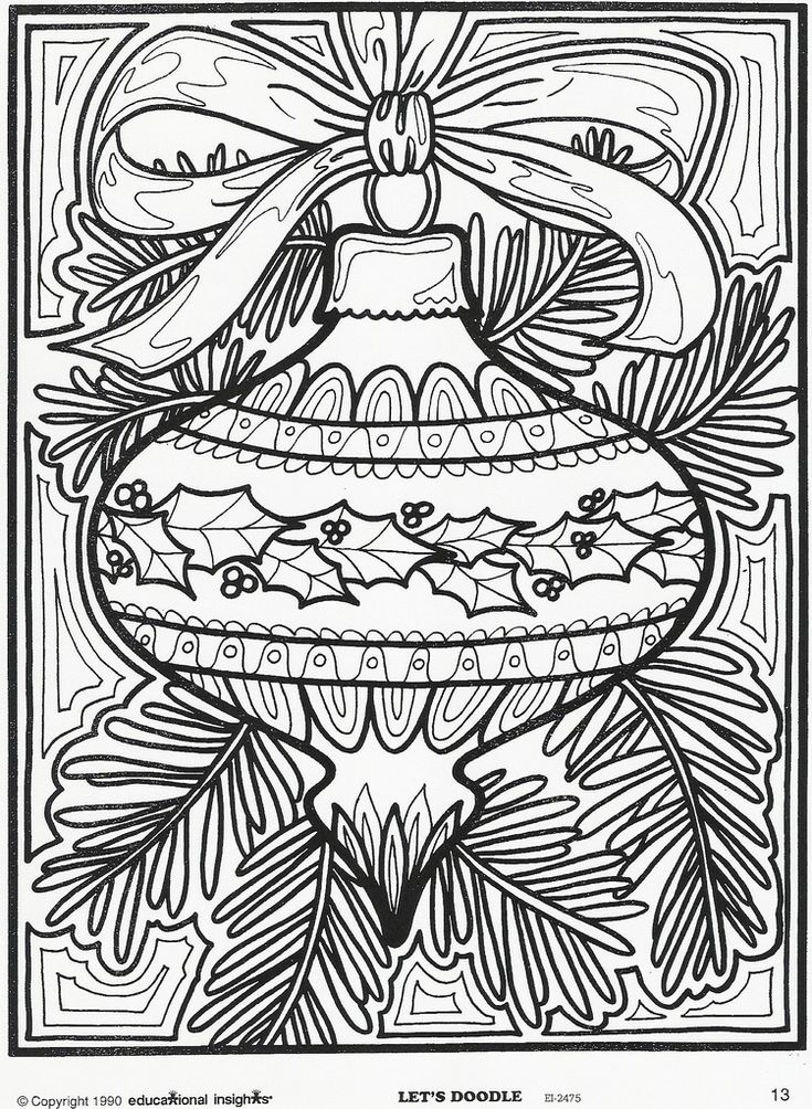 christmas coloring pages 14 best adult coloring pages christmas trees images on pinterest