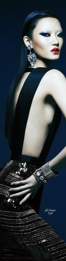Essence of Fashion ~ Opulent Look ✦ Fashion ✦ Hair ✦Make up ✦ Accessories ✦Ashley Foo ✦ https://www.pinterest.com/sclarkjordan/essence-of-fashion-~-opulent-look/