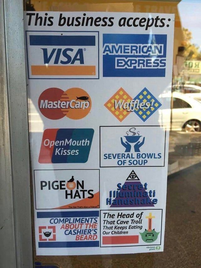 Blursed Payment Blursedimages In 2020 Funny Pictures Stupid
