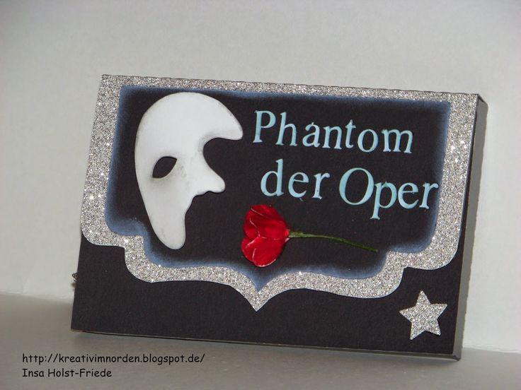 Kreativ im Norden: Gutscheinverpackung Phantom der Oper