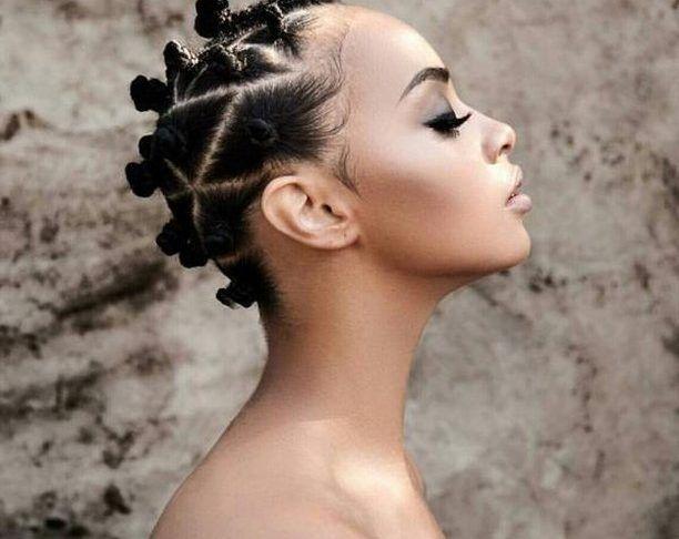 Brunettes-noir-coiffures-pour-le-nouvelle-saison 2019   – Natural Hair