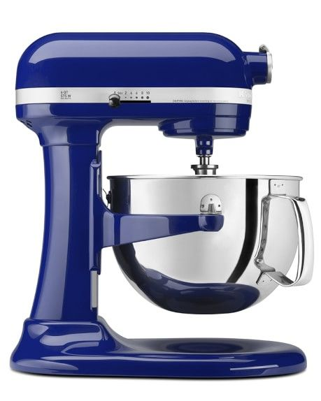 AHHHH! The power of color! I don't even cook but I think I need this!  KitchenAid® Pro 600 Stand Mixer, Cobalt Blue