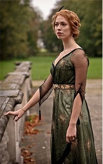 Early 20th century fashion from the British miniseries 'Parade's End'... that dress look familiar Lady Mary Crawley wore it during the 1st season of Downton Abbey