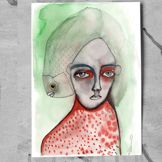 'Seeing Her Ghosts' is a collaborative Art Book Project about Schizophrenia and Psychosis. Together with a lot of different Artists and Writers form all over the World we tell a personal Story. We think it is about Time to speak about the unpleasant and extraordinary. #crowdfunding #startnext #art #illustration