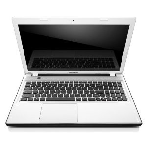 Lenovo Ideapad Z580 15.6 inch laptop - White (Intel Core i5 3210M 2.5GHz, 8Gb RAM, 750Gb HDD, DVDRW, LAN, WLAN, Webcam, Integrated Graphics, Windows 7 Home Premium 64-bit)