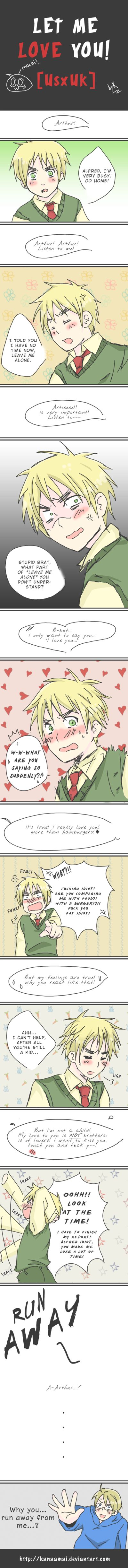 [APH] Let me Love you! [UsUk] by KanaAmai.deviantart.com on @deviantART