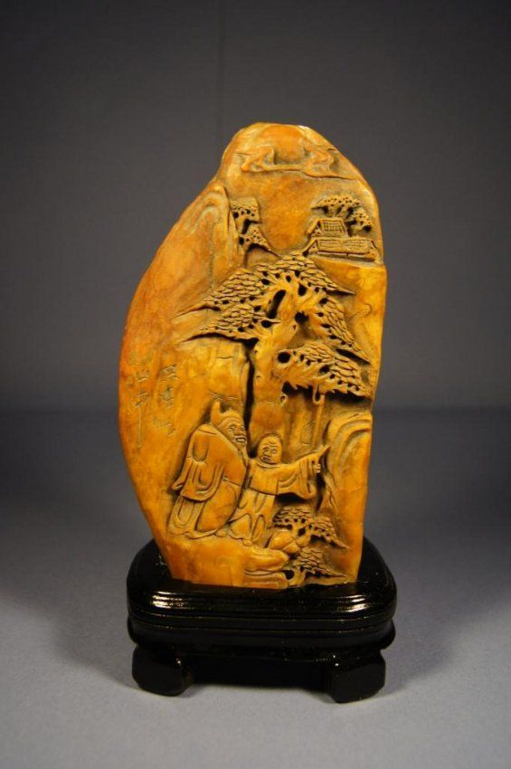 Best carved chinese soapstone images on pinterest
