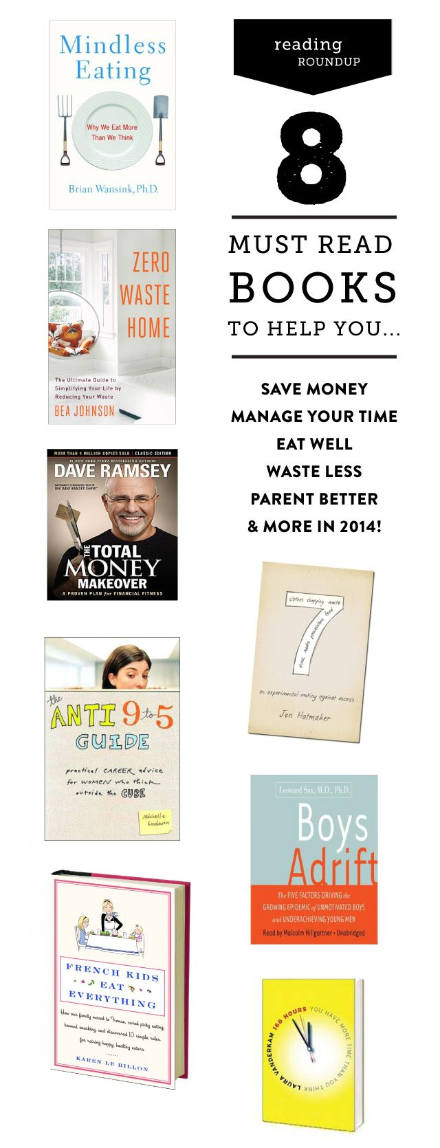 8 Books to Help You Out in Life
