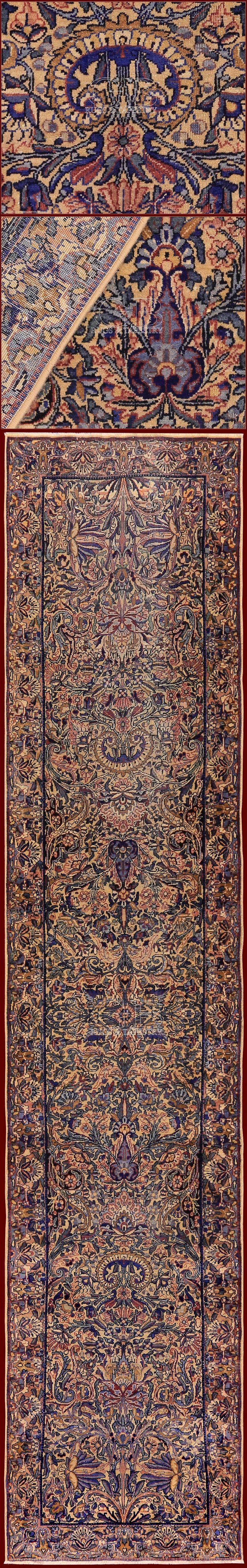 beatiful kermansah antique rug