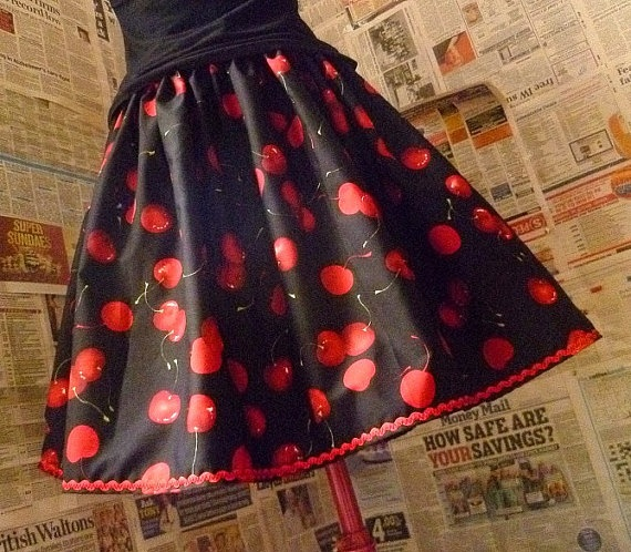 Cherry Skirt: Clothing Style, Clothing Cherries, Pinup Style, Rockabilly Style, Pin Up Clothing, Cherries Skirts, Pin Up Rockabilly, Retro Clothing Sho, Vintage Clothing