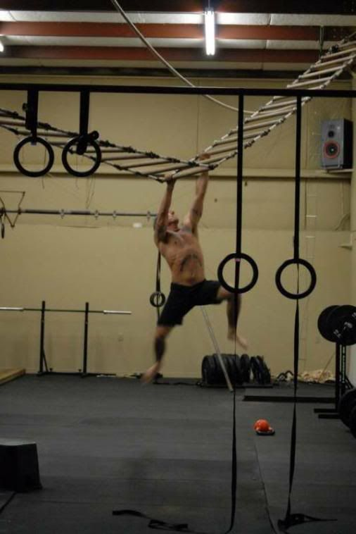 Hanging Monkey Bars Homemade Workout Equipment