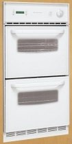 Frigidaire : FGB24T3ES 24 Single Gas Wall Oven with Manual Clean Porcelain Oven - White
