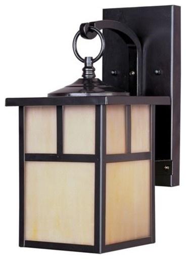 Craftsman style outdoor lighting