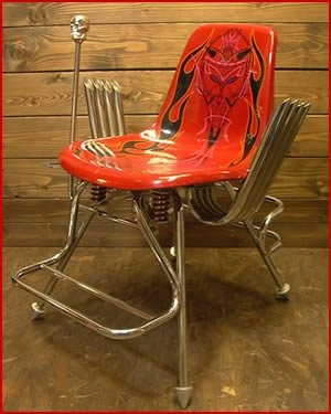 Awesome Cadeira Hot Rod