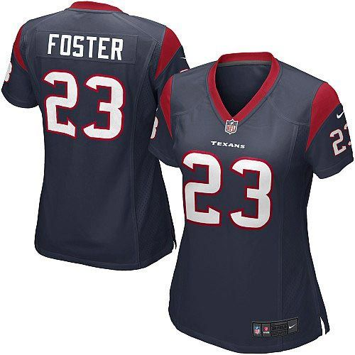 9c17e216 23 game arian foster houston texans womens jersey nfl breast cancer ...