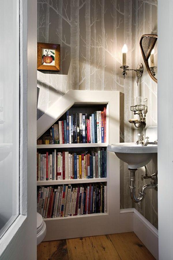 Bücherregal Im Bad : )