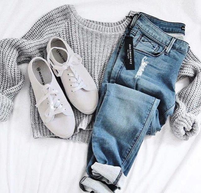 Mode-Ideen für Teenie-Outfits für Mädchen 583 #teenfashionoutfits